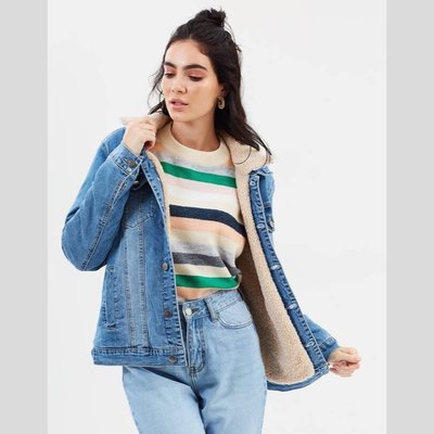 MINKPINK Influence Sherpa Jacket