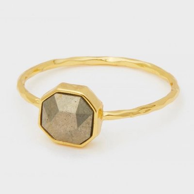 GORJANA Power Gemstone Charm Ring