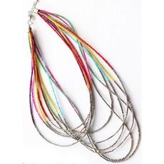 Beaded Rainbow Necklace