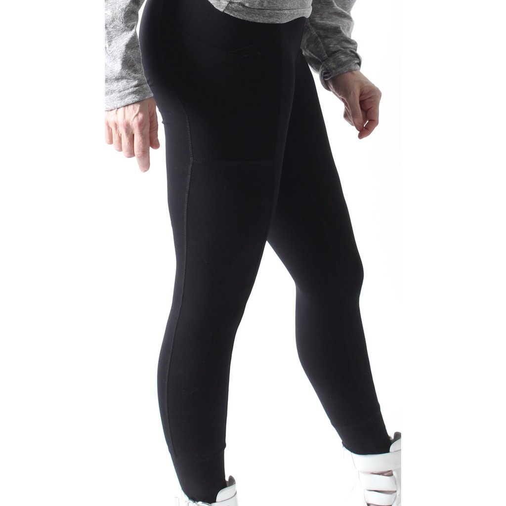 MONO B Overlay Side Pocket Leggings