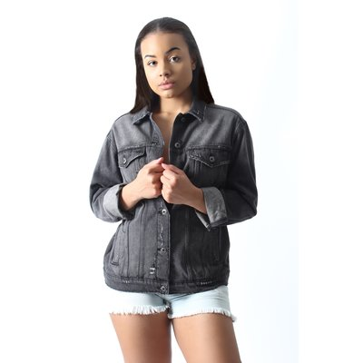 SNEAK PEEK Dark Denim Jacket