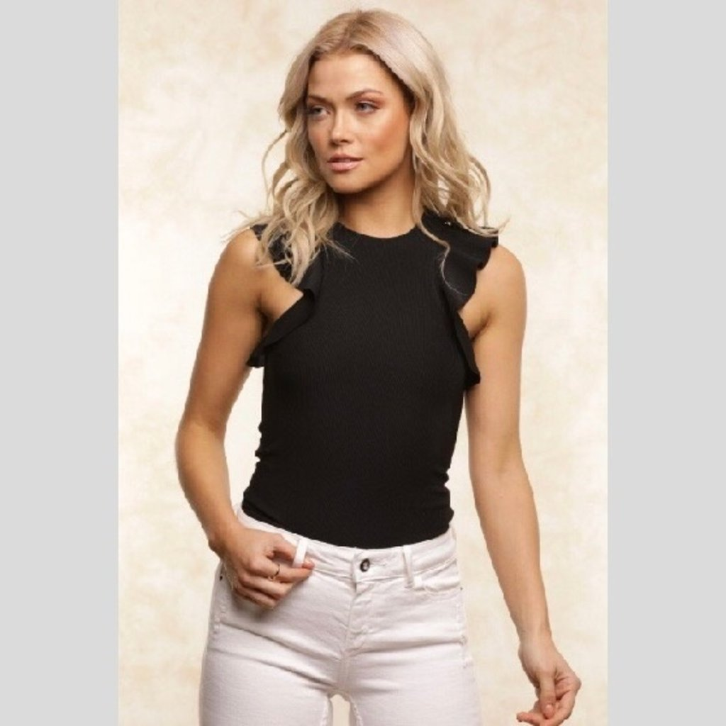 Fletch Sadie Ruffle Top