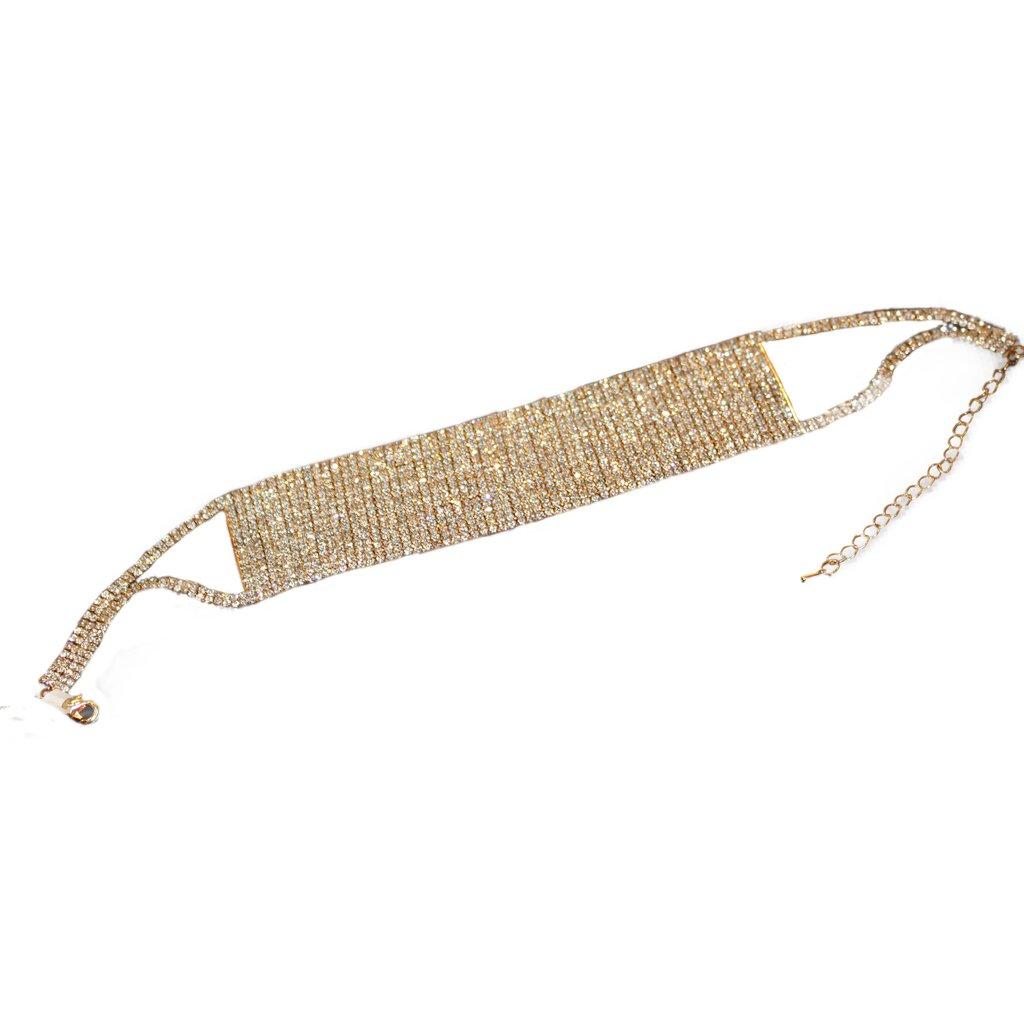 Gold Diamond Choker