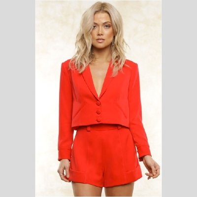 Fletch Cropped Blazer