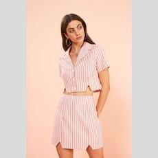 MINKPINK Check Mini Skirt