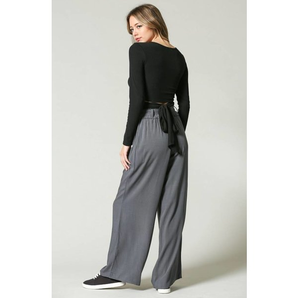 Woven Wide Pant