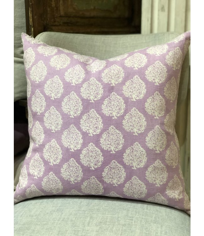 JOHN ROBSHAW MALI LAVENDER PILLOW 20X20 INSERT INCLUDED