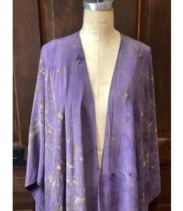 AVALOVE KIMONO DYED WITH ROSES & CRYSTAL ELIXIRS