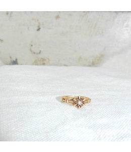 SOMETHING FOR EVERYONE - ANTIQUE GOLD VICTORIAN DIAMOND RING