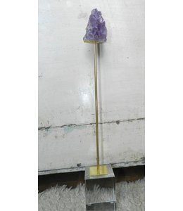 BLUE OCEAN TRADERS AMETHYST ON STAND - LARGE