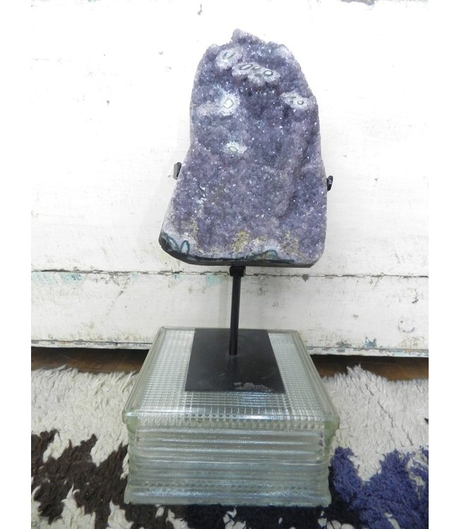 BLUE OCEAN TRADERS AMETHYST FORMATION ON BASE OVERSIZE
