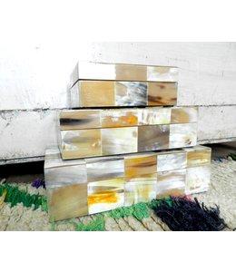 GLOBAL VIEWS/ STUDIO A SIERRA HORN BOX-SMALL