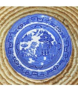 ELLAS ALLERTON&#039;S BLUE WILLOW<br />SALAD PLATE 8&quot;