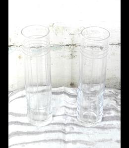 ROOST CUT GEOMETRIC GLASS CHAMPAGNE FLUTES
