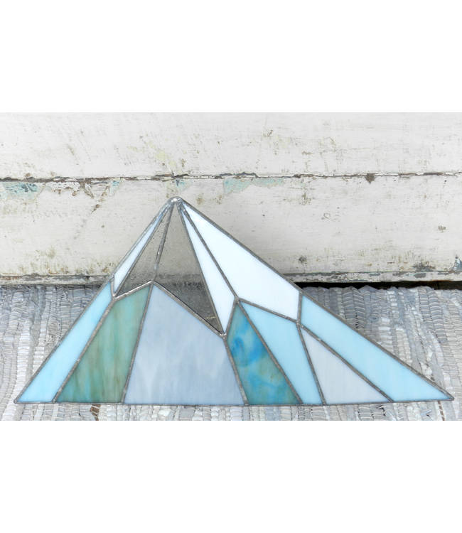 ROOST STAINED GLASS MOUNTAIN LOW
