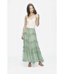 LOVE SAM TUILERIES HANDKERCHIEF MIDI SKIRT