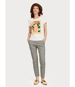 SCOTCH & SODA REGULAR FIT TEE WITH VARIOUS ARTWORKS