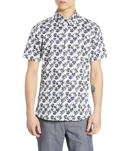 TED BAKER KOLAR SHORT SLEEVE BUTTON UP