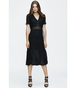 LOVE SAM DIAMOND EMBROIDERY DRESS