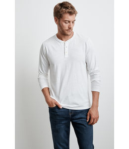 VELVET MENS OCTAVIUS LONG SLEEVE QUARTER BUTTON