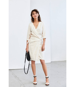 HUMANOID RILEY WRAP DRESS