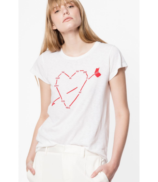 ZADIG & VOLTAIRE SKINNY HEART CO