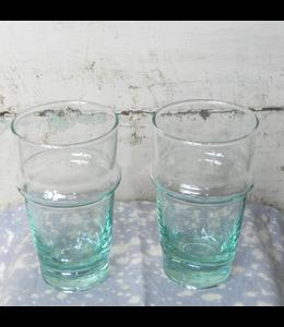 KNOCK ON WOOD ANTIQUES VINTAGE DRINKING GLASSES