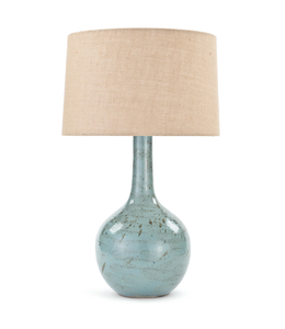 R.A. FLUTED CERAMIC TABLE LAMP