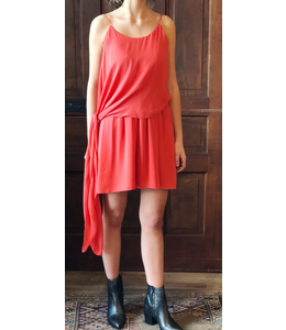HAUTE HIPPIE THE LAUREL CANYON DRESS MILITARY