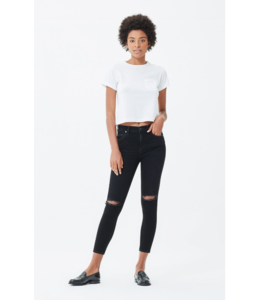 CITIZENS OF HUMANITY SIREN ROCKET CROP HIGH RISE SKINNY