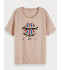 SCOTCH & SODA RELAXED FIT TEE WITH ARTWORK