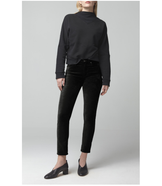 CITIZENS OF HUMANITY HARLOW ANKLE MID RISE SLIM (LUXE TOUCH)