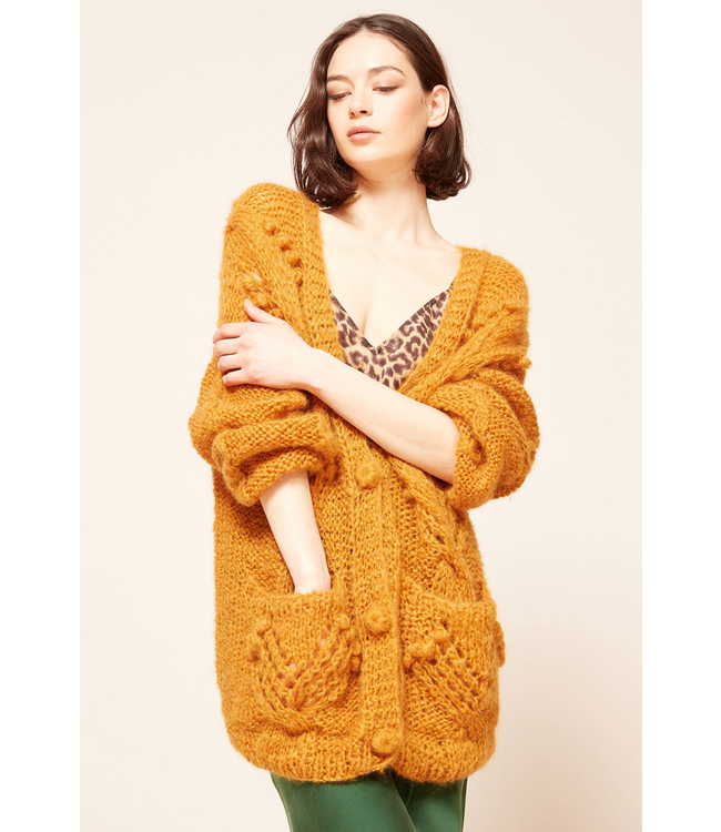 MES DEMOISELLES KNITTED CARDIGAN CLARENCE