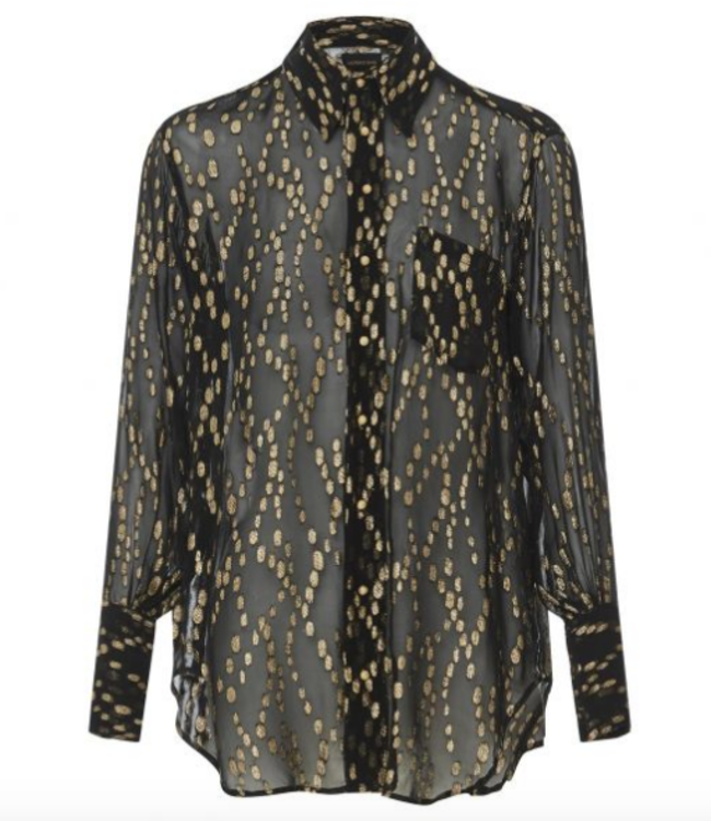 LAURENCE BRAS COSTES BUTTON UP BLOUSE