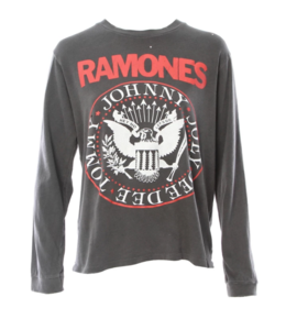 MADEWORN THE RAMONES HEY HO LONG SLEEVE