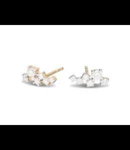 ADINA REYTER SCATTERED DIAMOND POSTS - Y14