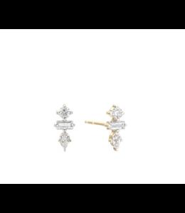 ADINA REYTER 3 DIAMOND JUMBLE BAR POSTS