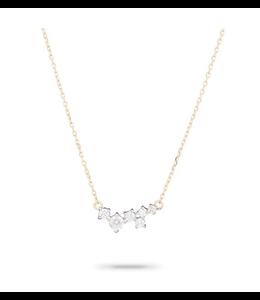 ADINA REYTER SCATTERED DIAMOND NECKLACE - Y14