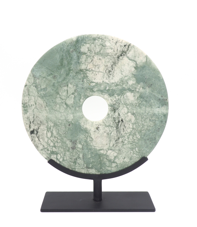 TENANGO MEDIUM JADE DISK