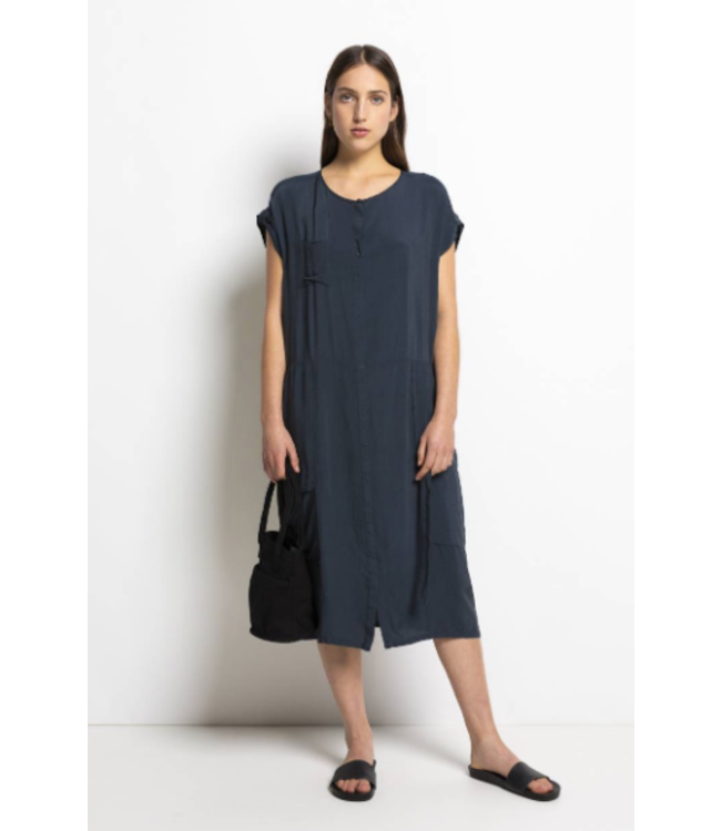HUMANOID DELLA VISCOSE/CUPRO DRESS