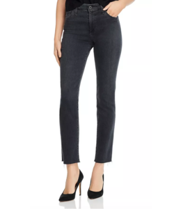 AG MARI HIGH-RISE STRAIGHT JEAN IN PRESSURE