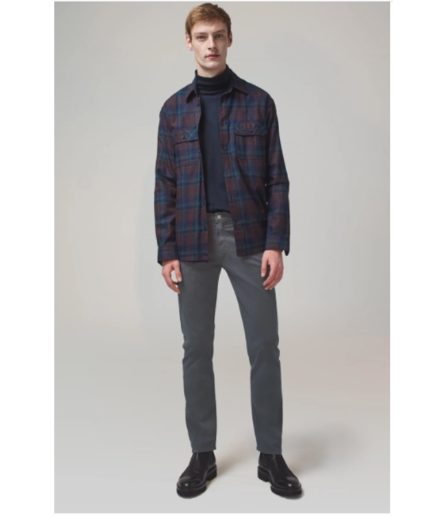 CITIZENS OF HUMANITY MENS BOWERY STANDARD SLIM LUXURY SATEEN TWILL IN PEAT