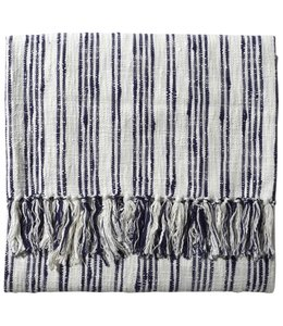 JOHN ROBSHAW NILA STRIPED COTTON THROW<br />