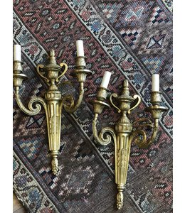 VINTAGE VINTAGE FRENCH SCONCES PAIR