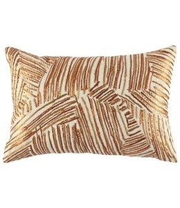JOHN ROBSHAW COPPER DECORATIVE PILLOW 12X18<br />