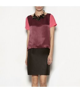HOSS/INTROPIA SILK TIERED DRESS