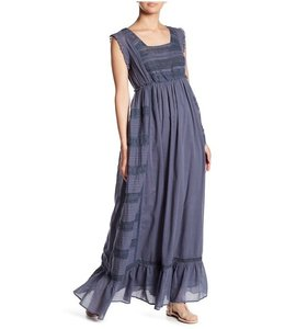LOVE SAM HILL COUNTRY RUFFLE LACE CHIC MAXI