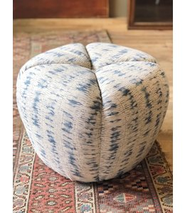 """CISCO BROTHERS TONTO OTTOMAN IN THIDA PERIWINKLE (J), 18""""w x 14""""h x 18""""d"""