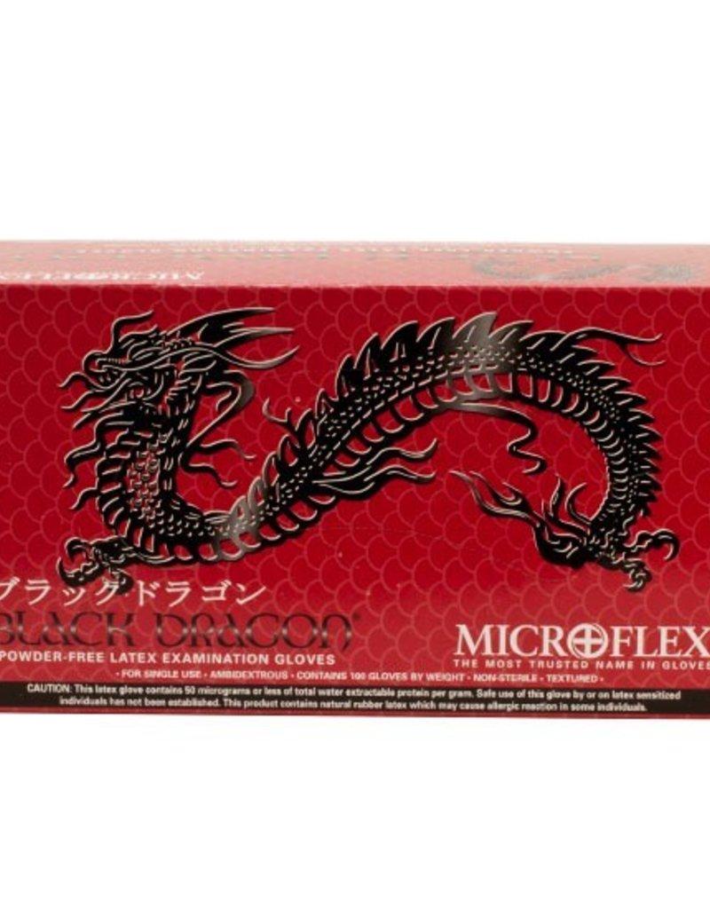 Black Dragon Gloves - Large