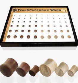 Teak Wood Plug- 00g